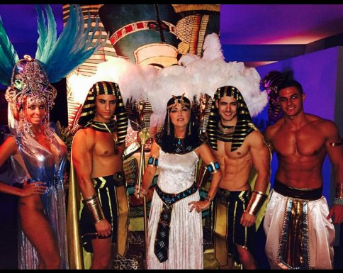 10 ANS CLUB LE JAVA SOIREE EGYPTIEN